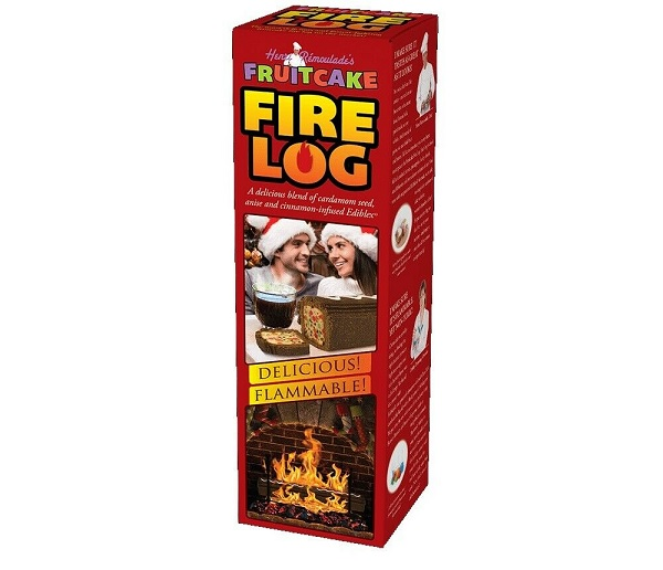 Fruit Cake Fire Log