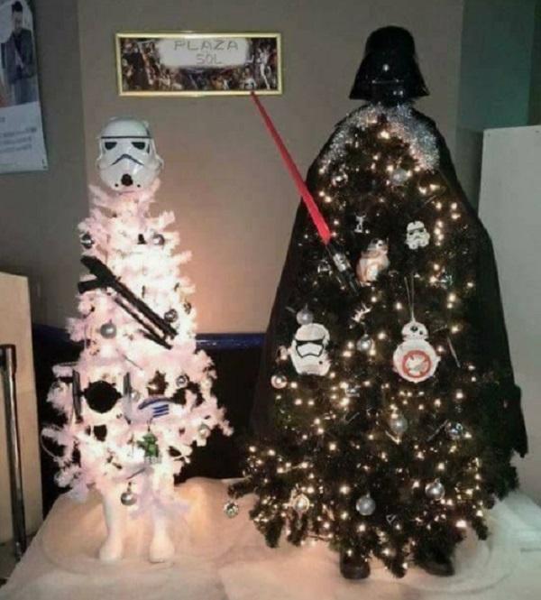 Darth Vader & Stormtrooper - Star Wars