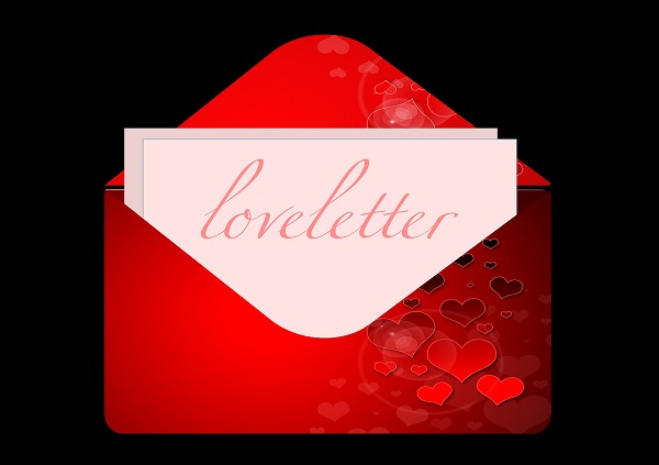 Write Love Letters or Books