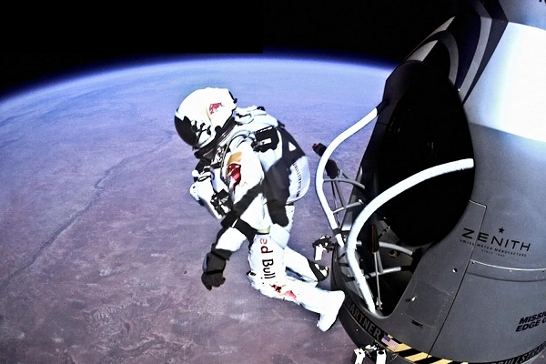 The Highest Free Fall Jump From Space