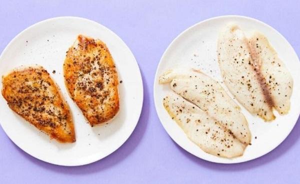 Chicken Breast & Tilapia