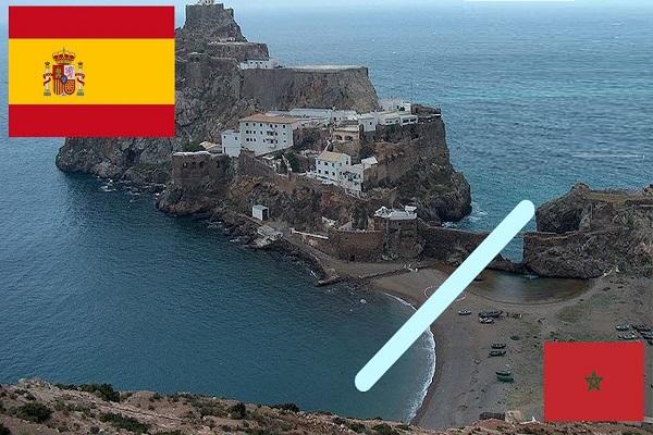 Penon De Velez De La Gomera Spain/Morocco