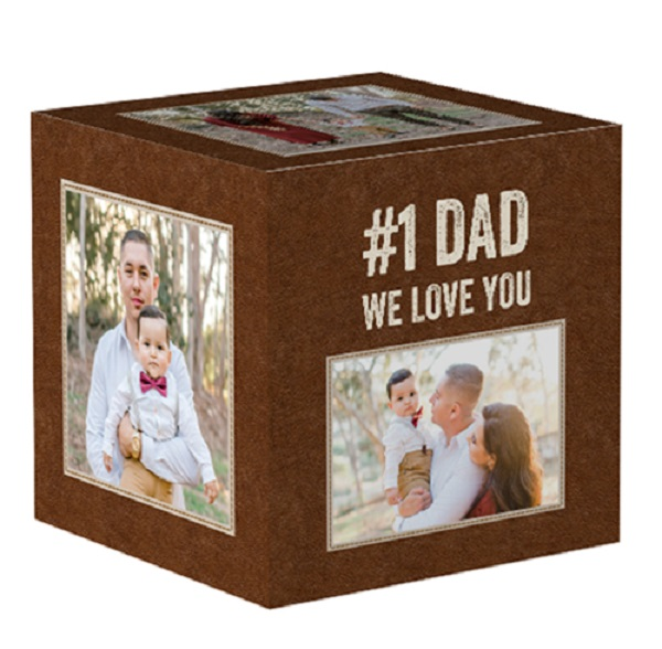 1. Personalized Photo Cube