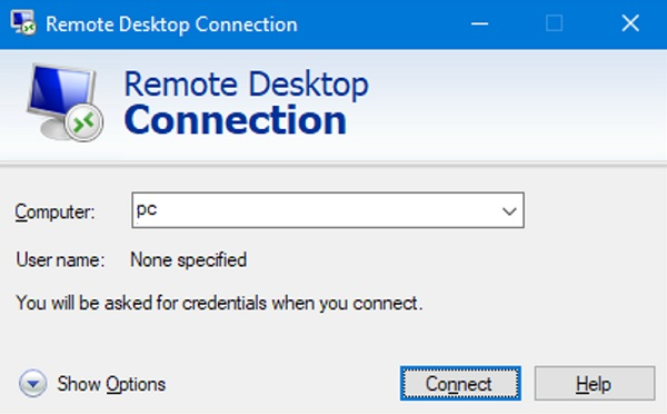 Use Remote Connections