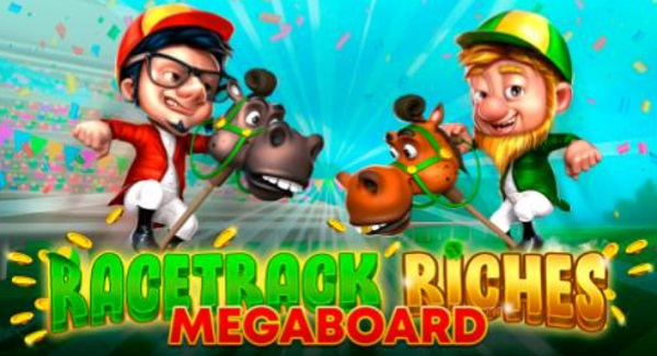 Racetrack Riches Mega board