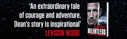 Levison Wood (Adventurer/ explorer) endorsing Relentless