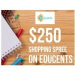 Win a $250 shopping spree!