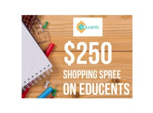 Win a $250 shopping spree! Educents May Giveaway