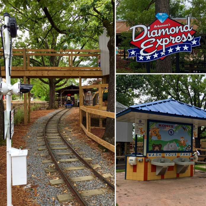 Little Rock Zoo Diamon Express Train