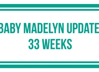 Baby Madelyn 33 Weeks