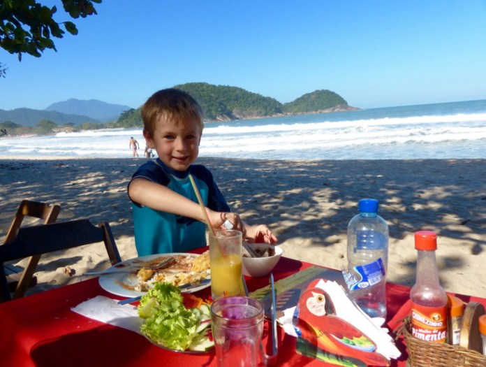 Travelers Tuesday - Trinidade Beach, Brazil