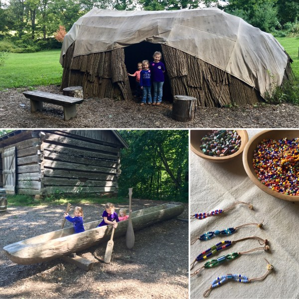 Conner Prairie Lenape Village