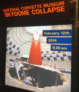 Corvette Skydome Collapse