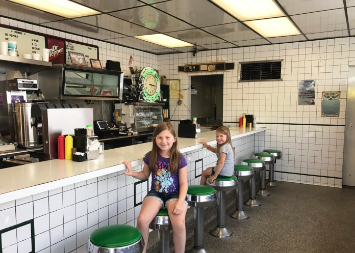 Ferrell's Cafe Seating