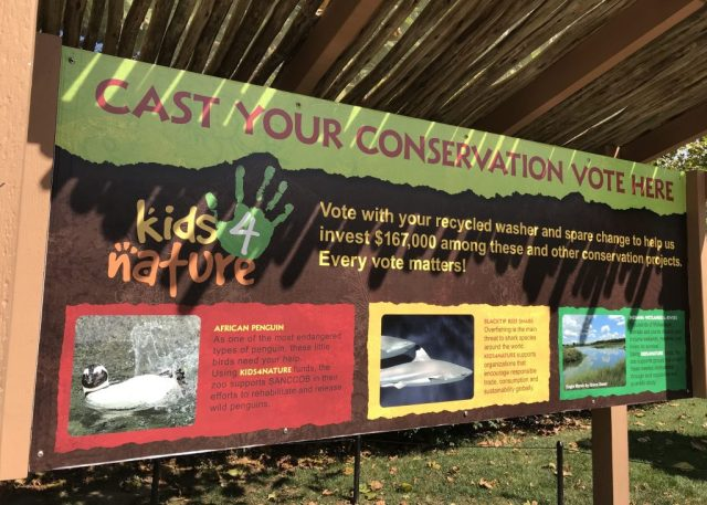 Conservation Voting Sign