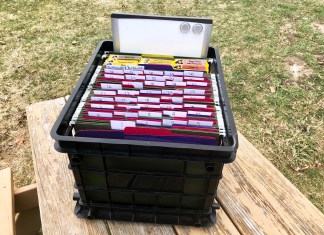 Crate System for Homeschooling