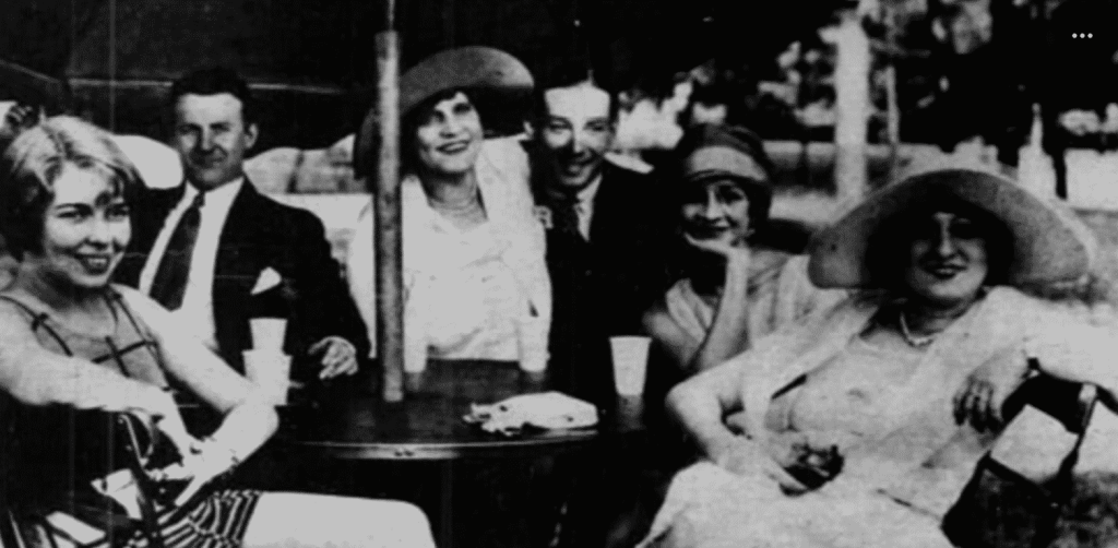 image of Neville Goddard and his dance partners