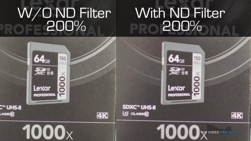 ND Filter comparison