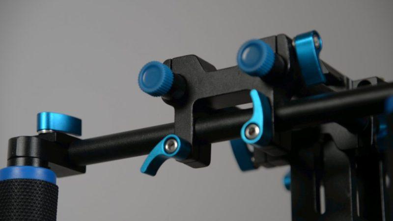 neewer shoulder rig build