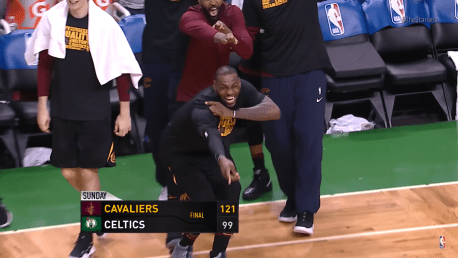 LeBron Has Every Reason to Smile Again, The Cavaliers Don't