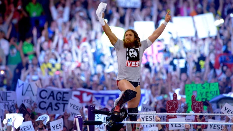Daniel Bryan 1024x576 - Wrestling for Dummies; Why do People Love Wrestling?