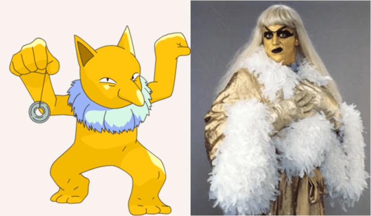 Hypno Goldust - Which Pokémon Resemble WWE Superstars?