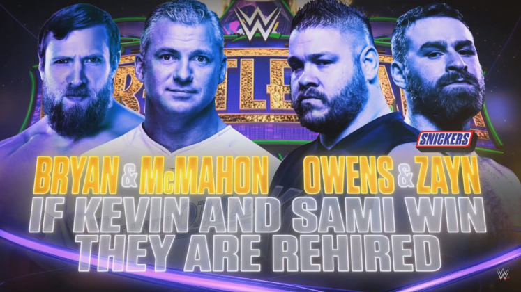 DB and Shane vs Zayn and Owens 1024x576 - Rating the Build-Up of Every WrestleMania 34 Match