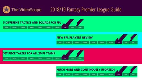 The 2018/19 Fantasy Premier League Guide