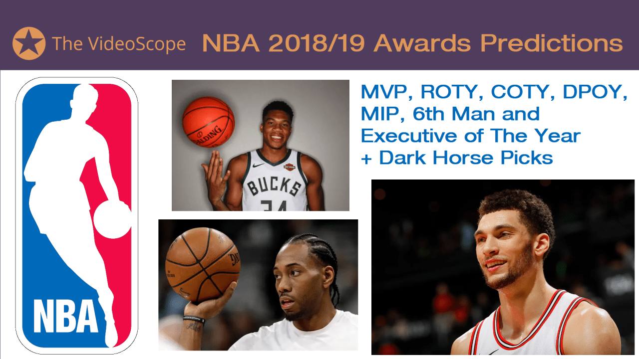 2018/19 NBA Predictions (MVP, ROTY++ Picks and Dark Horses)