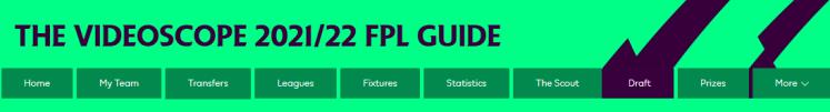The VideoScope 2021 22 FPL Guide 1024x138 - The 2021/22 Fantasy Premier League Guide