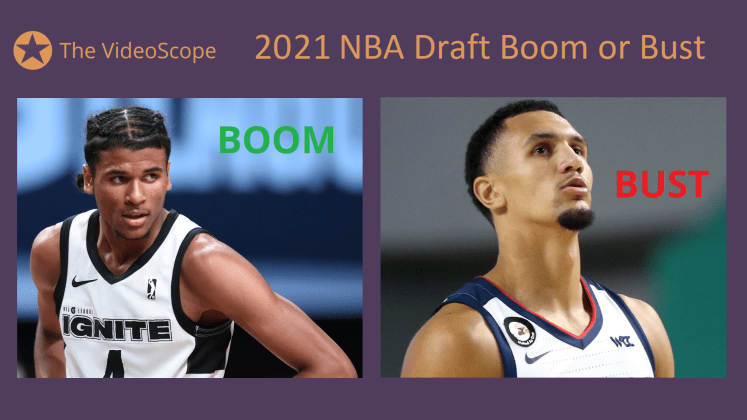 NBA 2021 Boom or Bust 1024x576 - NBA 2021 Draft: Boom or Bust Predictions