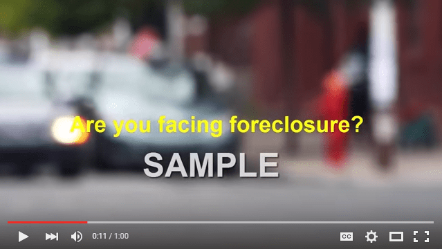 foreclosure psa video