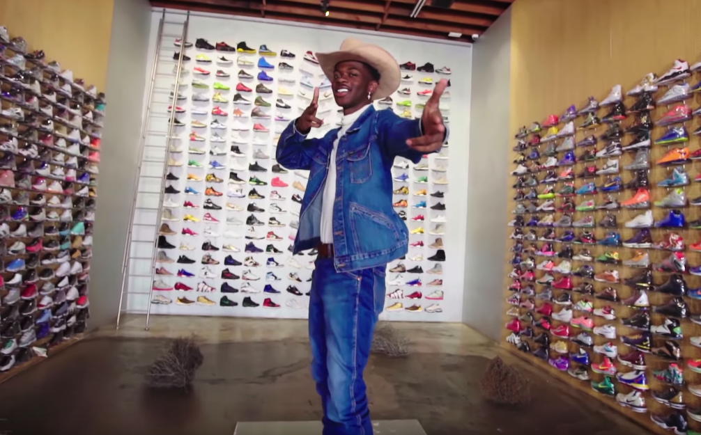Go Sneaker Shopping With Lil' Nas X image of rapper