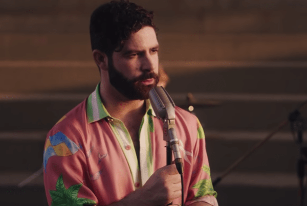 "Watch Foals Super Summery Music Video For ""In Degrees"" image of singer"