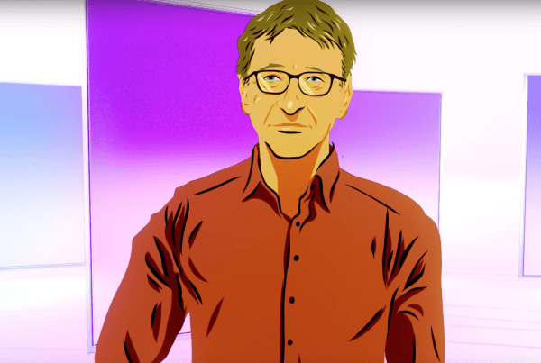 Bill Gates Recommends 5 Books With This Breathtaking Animation image of bill gates