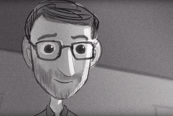 Stunning Animation Shows Us One Man's Journey Into His Grandfather's Amazing Journals image of man