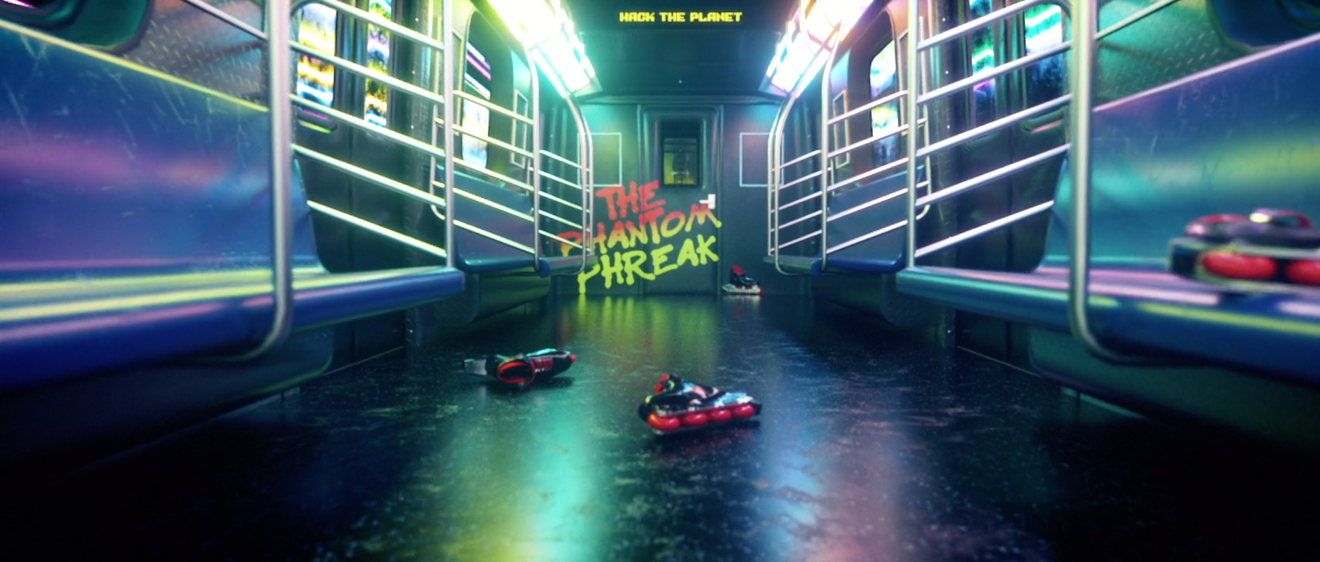 3D Animation Recreates The Title Sequence Of 90s Cult Classic