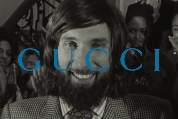 Gucci Announce Their Prêt-À-Porter Range With This Classy Short Film image of Gucci
