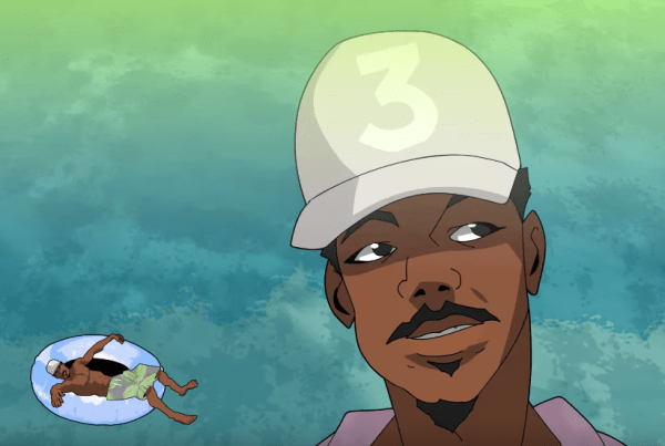 Watch Supa Bwe And Chance The Rapper's Awesome Animated Music Video image of Chance The Rapper