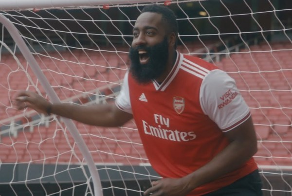 Basketball Star James Harden Explores London With Adidas image of James Harden