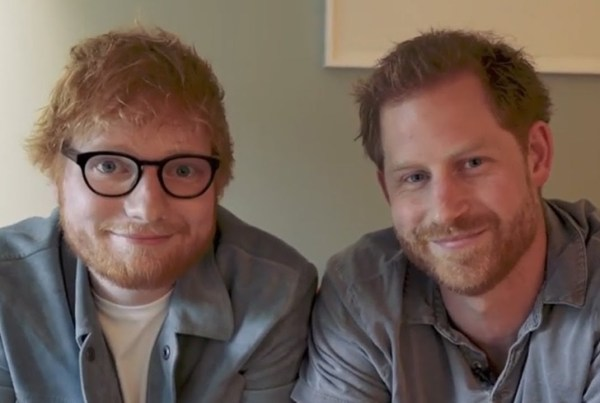 Prince Harry And Ed Sheeran Write A Song For World Mental Health Day image of Prince Harry