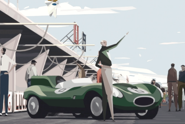 "Animated Short Film ""Le Mans 1955"" Takes Us Inside A Motor Racing Tragedy image of Le Mans 1955"