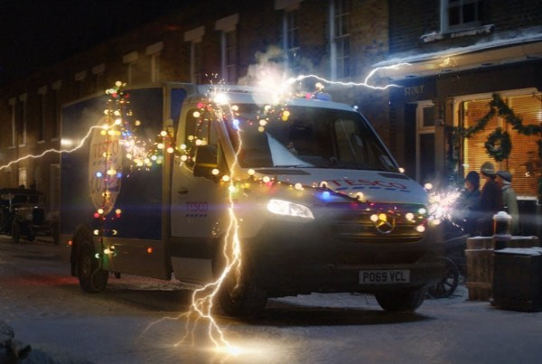 Tesco Travels Through Time In Their New Christmas Ad image of Tesco