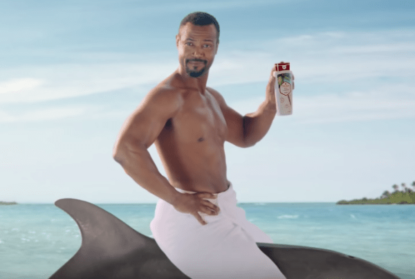 The Old Spice Man Meets His Son In This Funny Ad image of The Old Spice Man