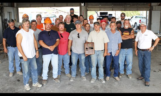 Buncombe Quarry recieves award