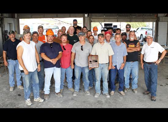 Buncombe Quarry recieves award