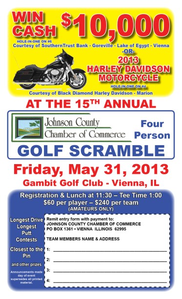 Chamber Golf Scramble slated for May 31 – The Vienna Times