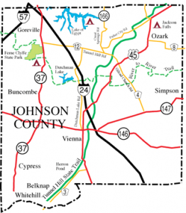 Johnson County map