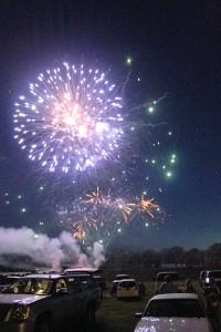 Fireworks at Vienna