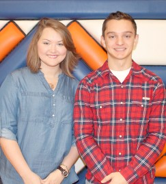 Mistress and Master of Ceremony for Homecoming Coronation will be Allison Allbritten, daughter of David and Patty Allbritten; and Quin Colson, son of Steve and Tina Colson.